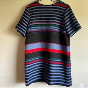 Zara Color Block Dress
